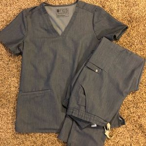 Figs Scrubs Color: Heather Blue (seasonal)